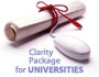 Clarity Package for Universities